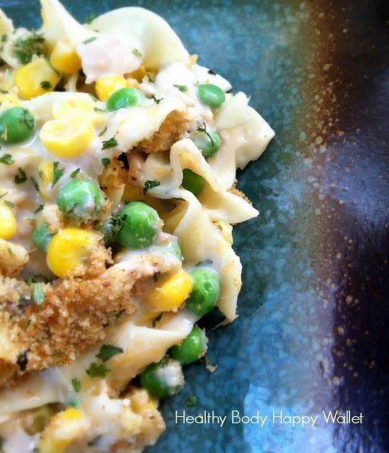 Healthy Body and Happy Wallet: Creamy Tuna Noodle Casserole