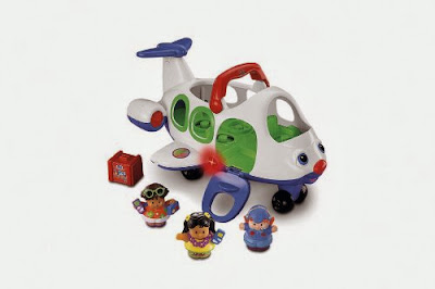 Fisher-Price Little People Lil 'Movers Airplane