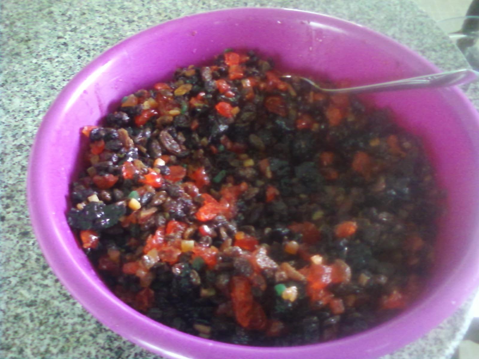"""So Very Very Thankful Bajan Christmas Fruit Cake """"Black Cake"""""""