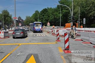 Grindelberg - Baustelle