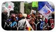 Kesiangan Gara - Gara Demo Buruh Di Gedung DPR MPR