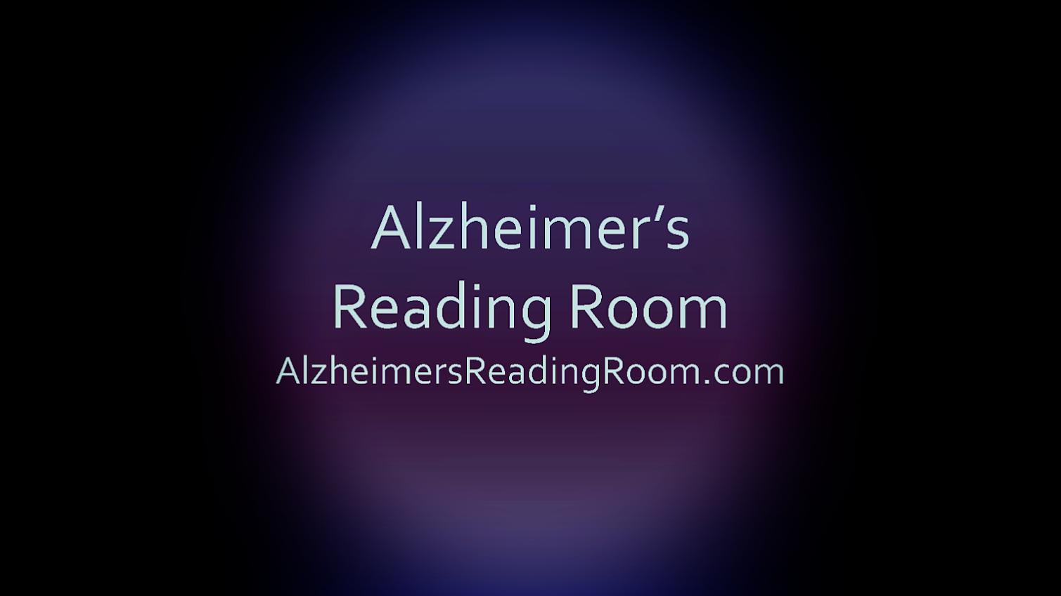 Alzheimer's Reding Room