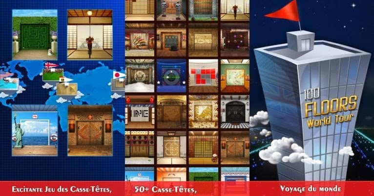 Mondo escape 100 floors uk regno unito soluzione livelli 1 for 100 floors seasons floor 9