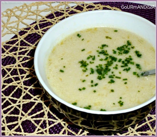 image Bouillon thai poulet coco et citronnelle