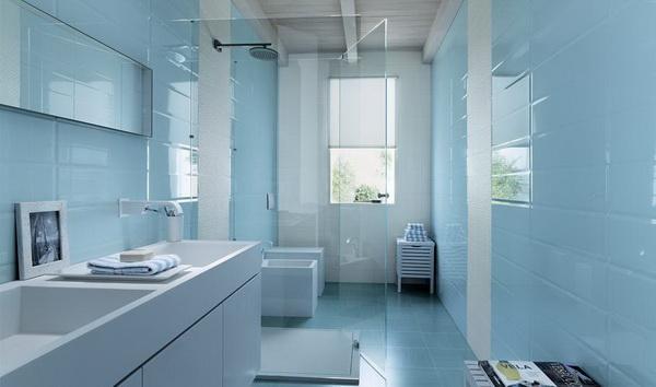 ديكورات حمامات باللون الأزرق 2013، ديكورات مودرن 2013