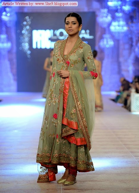 Bridal Collection in PFDC L`Oreal Paris Bridal Week 2014