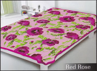Selimut Belladona Red Rose
