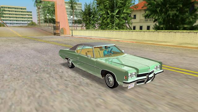 Chevrolet Impala Custom Coupe 1972 GTA Vice City