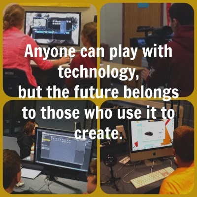 the future belongs to those who use technology to create