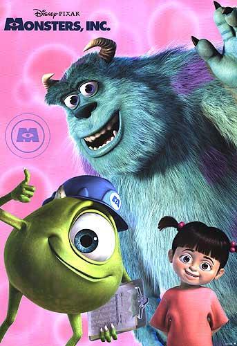 Filme Monstros S.A. Dublado AVI DVDRip