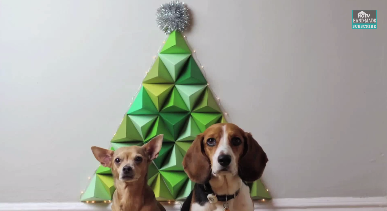 3D DIY Geometric Christmas Tree