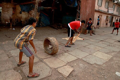 Funny Photos from India, Kids playing