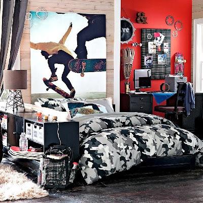 dormitorio juvenil varon deportista