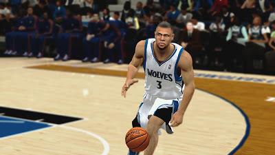 NBA 2K13 Brandon Roy Cyberface Patch