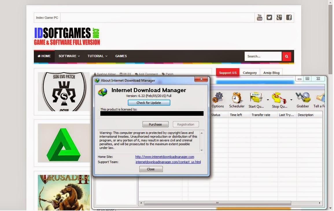 Internet Download Manager 6.22