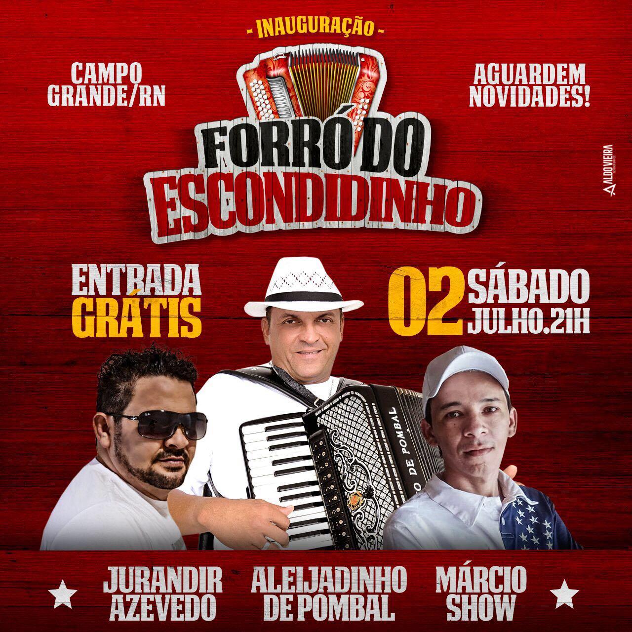 """Dia 02 de Julho tem a Inauguração da Casa de Show """"Forró do Escondidinho"""""""