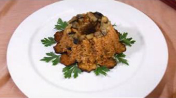 Patlıcanlı Pilav Nasıl Yapılır - Videolu Tarifi