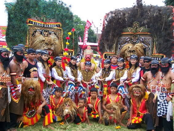 Tari Reog Ponorogo Tarian Daerah Jawa Timur