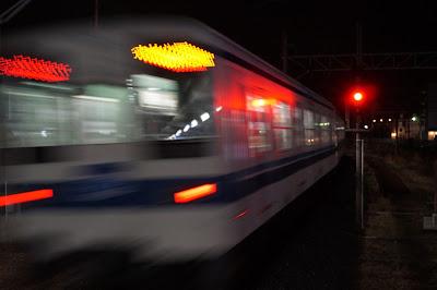 東武東上線最後の10両編成8000系8175F+8506Fと信号機