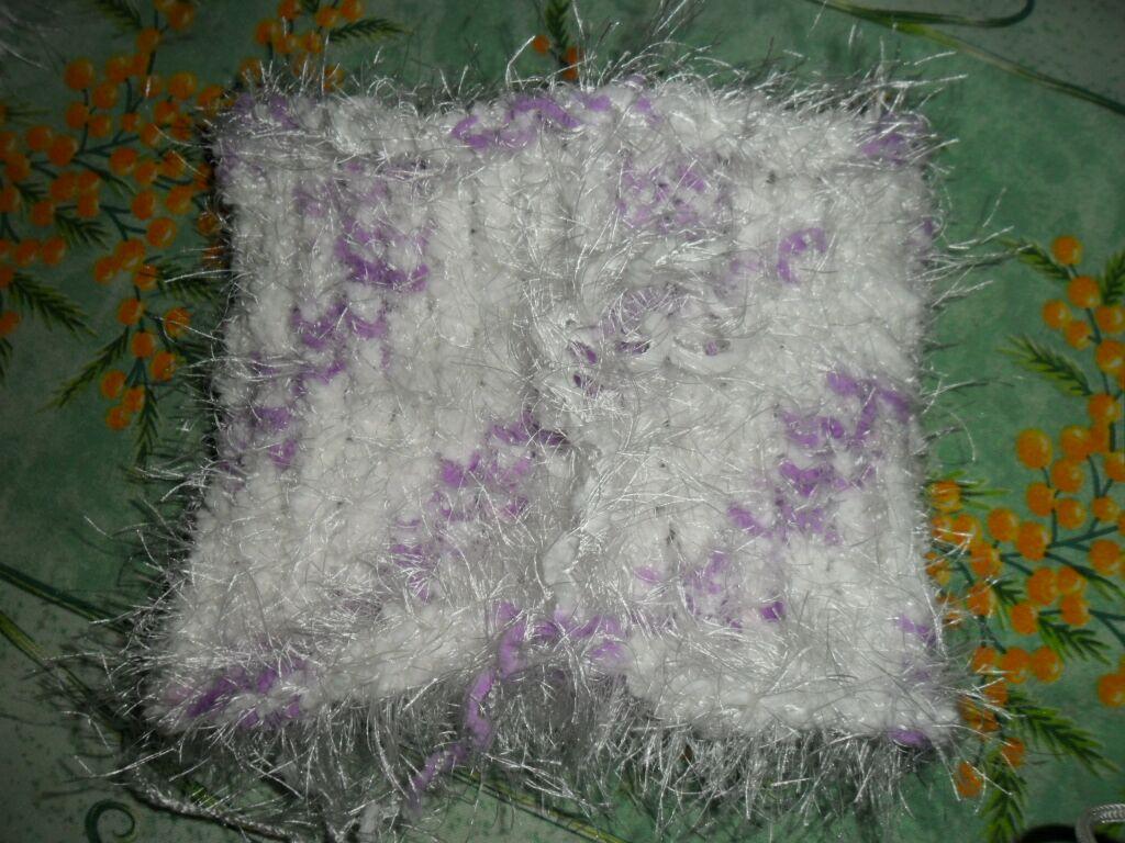 Le tricotin g ant belge comment faire un snood au tricotin g ant - Comment terminer un tricotin ...