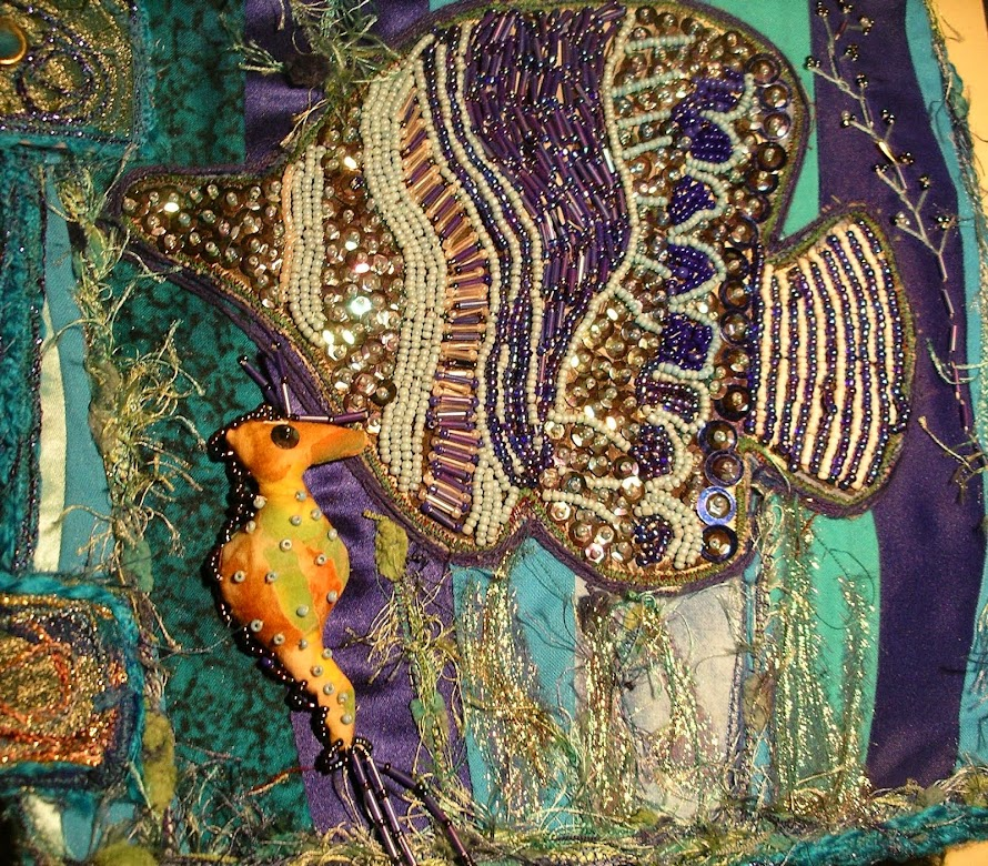 Sea Themed Fabric Book