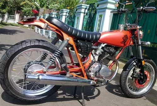 Gambar Modifikasi Honda CB 100 Jap Style Terbaru