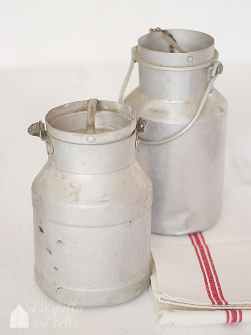 aluminium milk housing