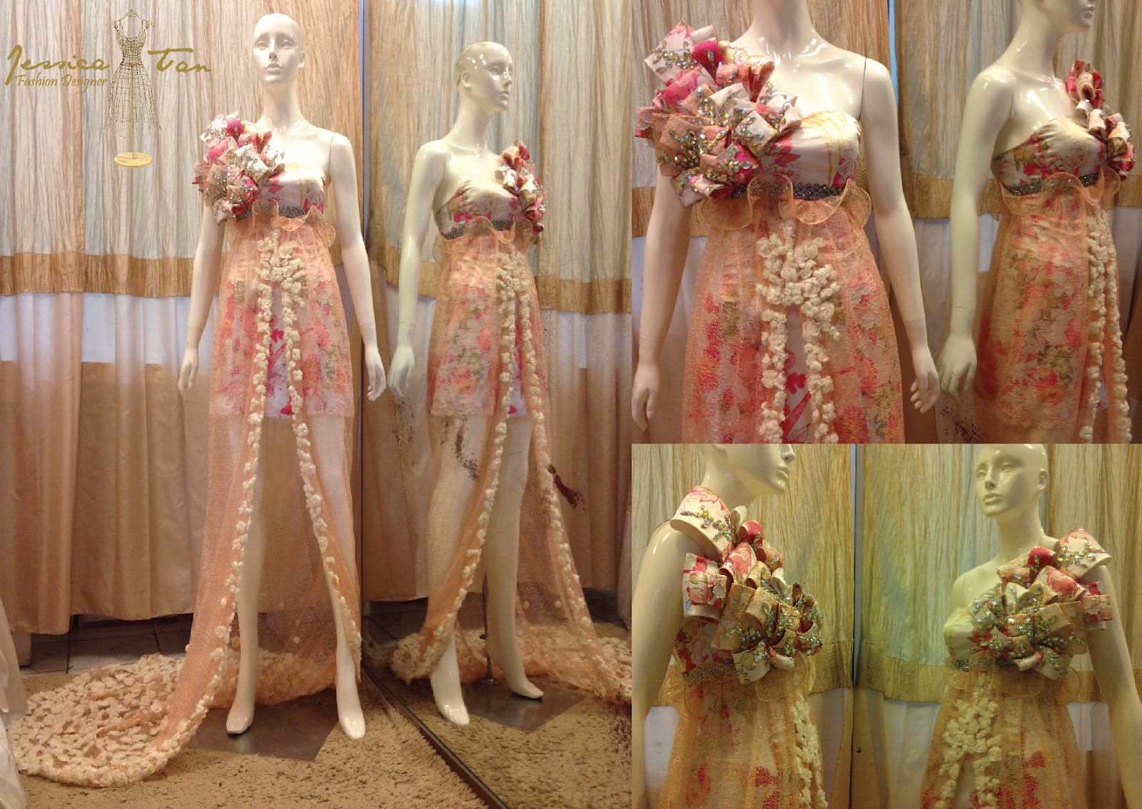 Jessica Tan: EVENING GOWN 2012