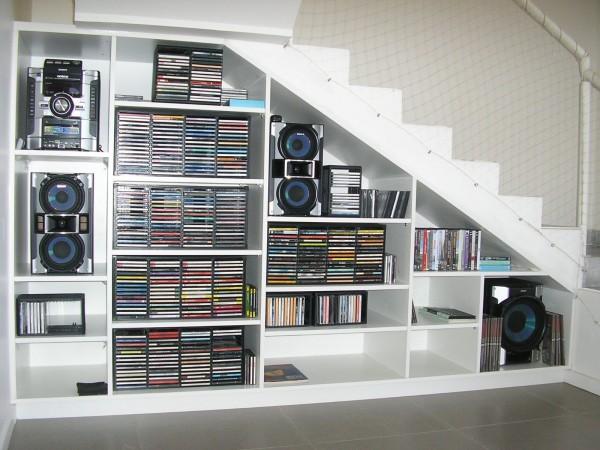 Mueble Estantería Escalera