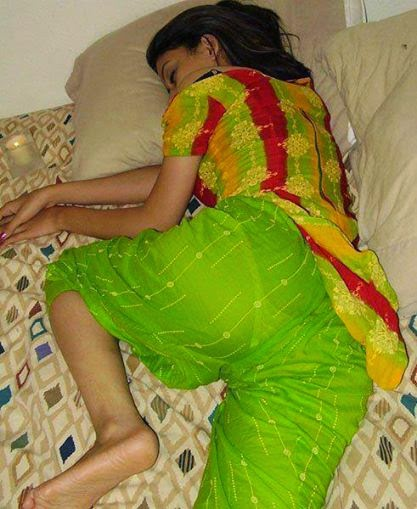 Indian Girl Panty Visible While Sleeping in a Transparent ...