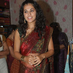 Tapsee Latest Hot Saree Pics at Sreeja Fashions