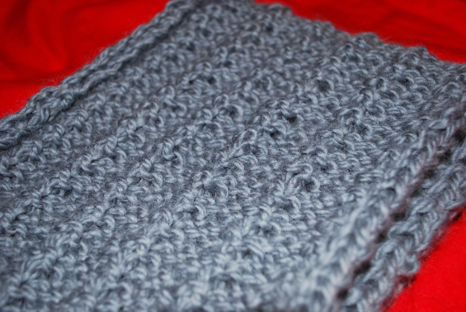 tricoter un snood rapide