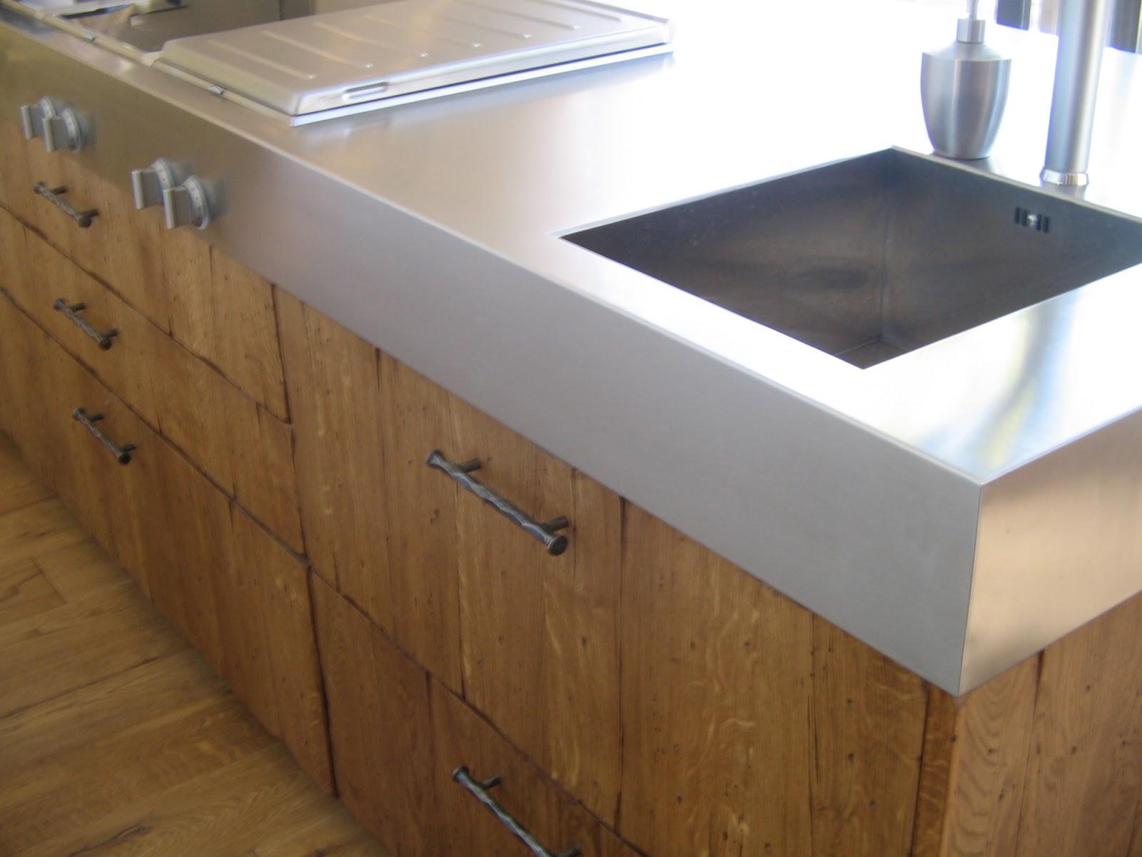 Encimeras de cocina cu les son y c mo conservarlas for Encimeras de madera para cocinas
