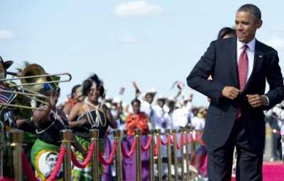 obama dancing in tanzania