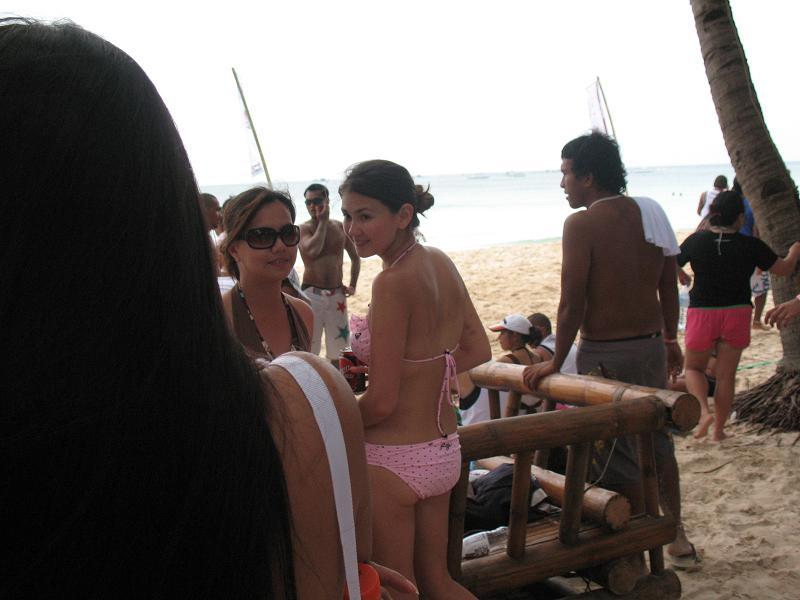 angelica panganiban polka-dots bikini pics 02