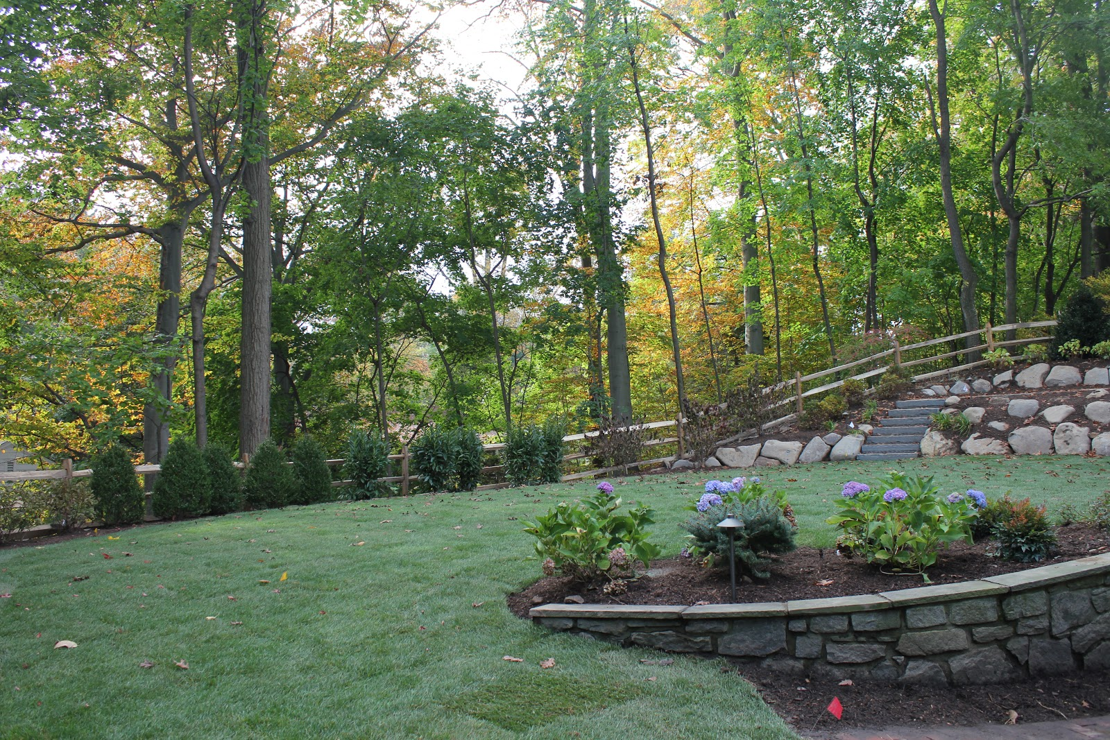 gardening and gardens backyard renovation complete