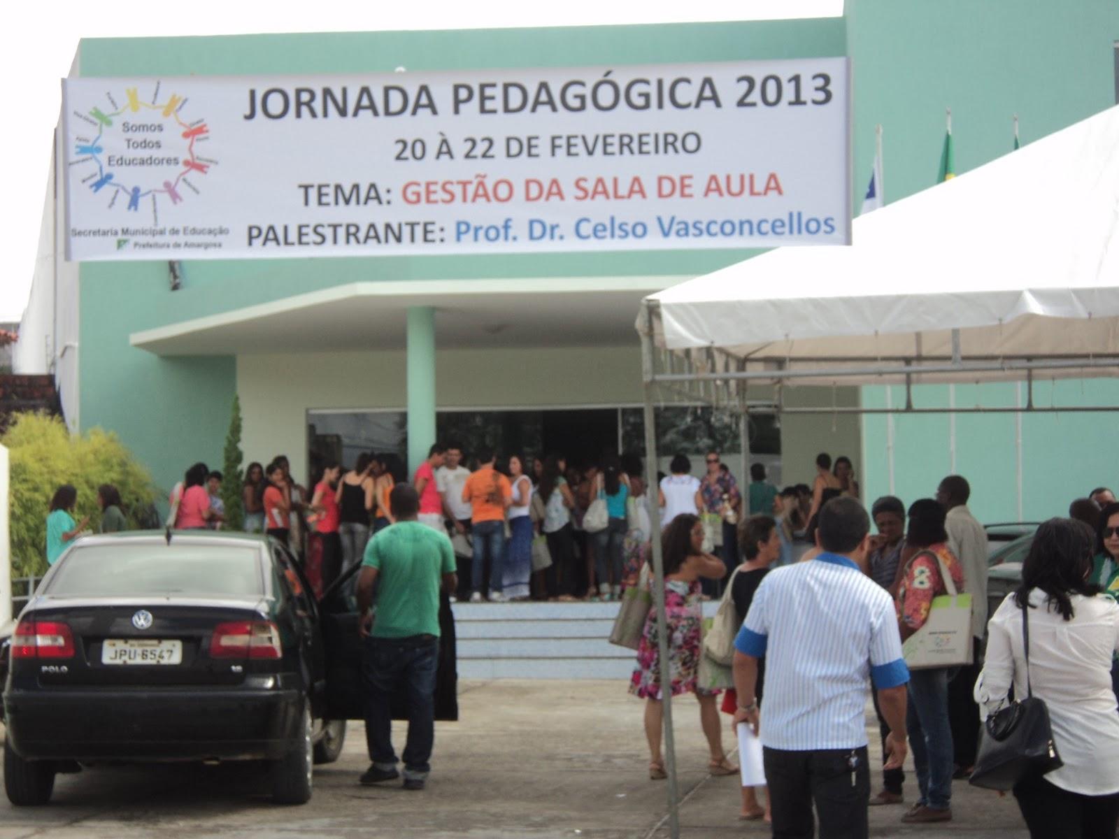 Começou hoje a jornada Pedagógica da Rede Municipal de Ensino