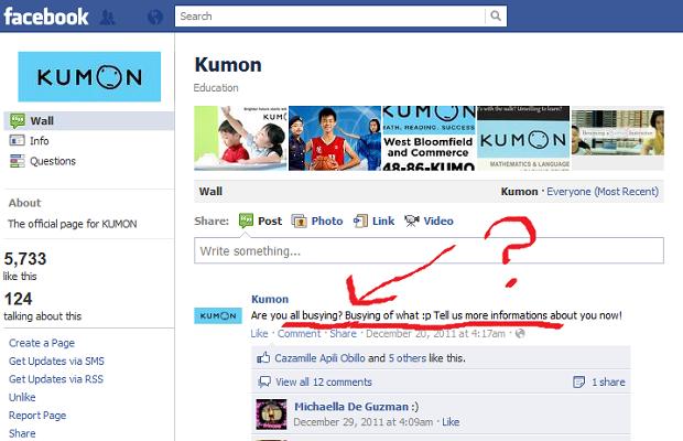 kumon math levels