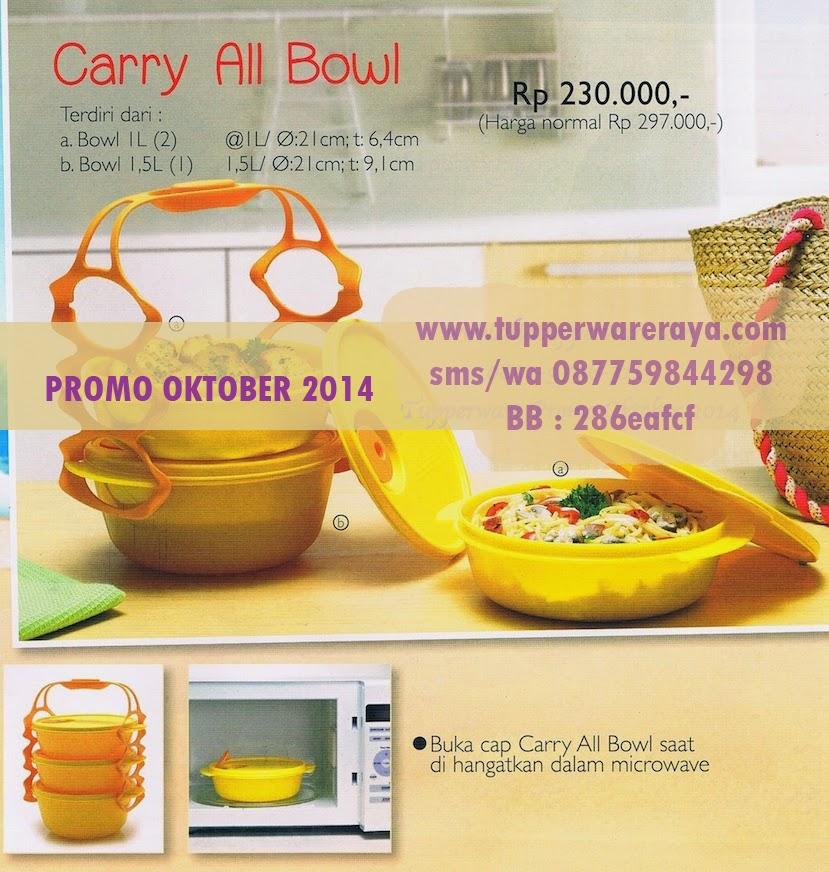 Tupperware Promo Oktober 2014 Carry All Bowl