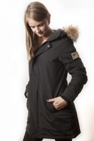 svart svea jakke
