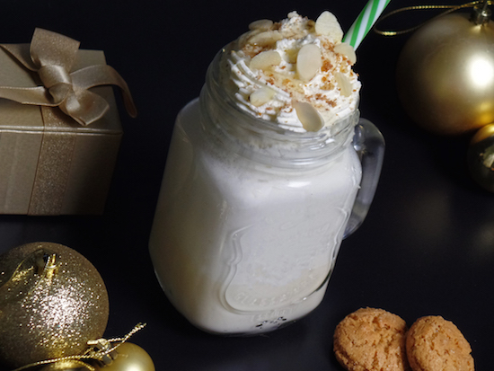 Honey amaretto eggnog recipe