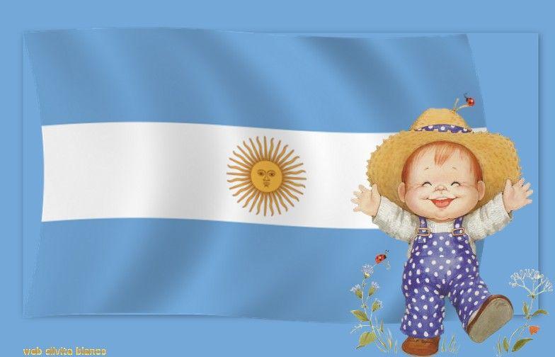 Un lugar llamado jardin bandera argentina for Banderas decorativas para jardin