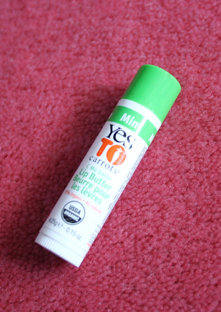 Yes To! Carrots Lip Butter in Mint