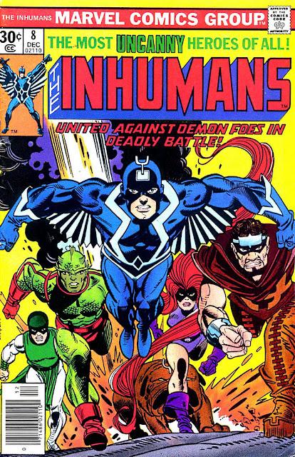Imagen de Los Inhumanos-Marvel