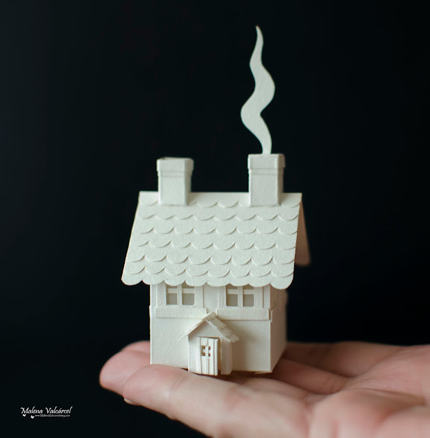 miniature-paper-house