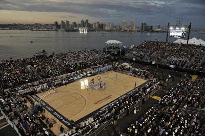 baloncesto en portaaviones