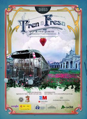 Cartel Temporada 2013 Tren de la Fresa