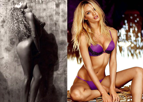 Theres no Secret to Candices success! Swanepoel reveals her nude body in arty snap   Candice