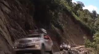 Toyota Fortuner Adventure Terjang Medan Curam