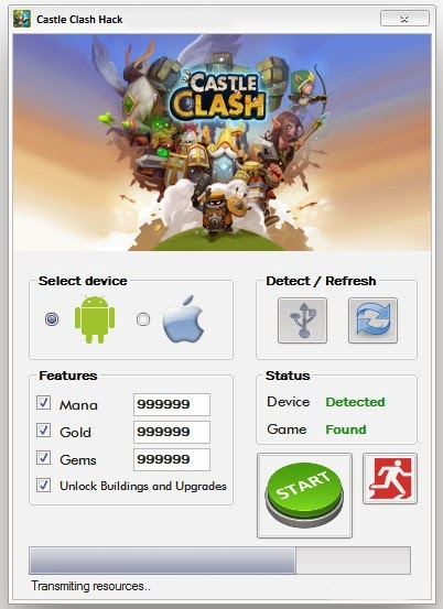 Castle Clash [Android & iOS] HACK WORKING FREE DOWNLOAD